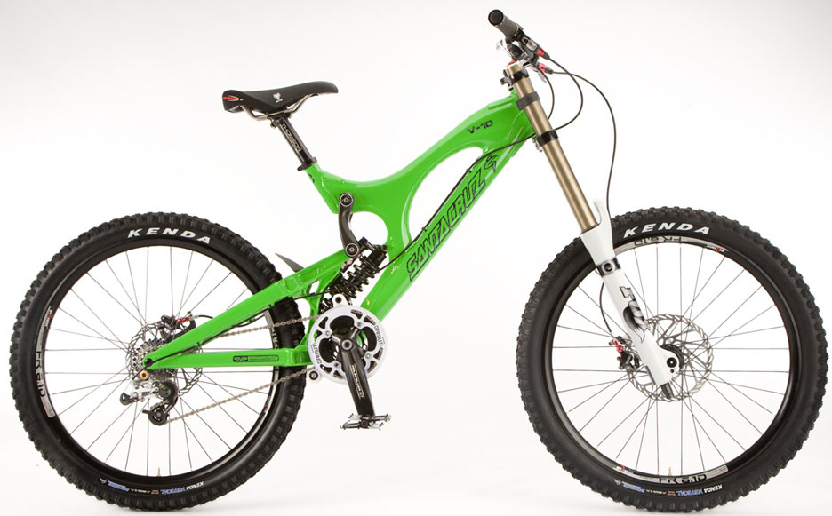 Santa Cruz V10 Full Suspension Downhill Mountain Bike